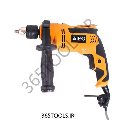 دریل چکشی  AEG مدل SBE580R