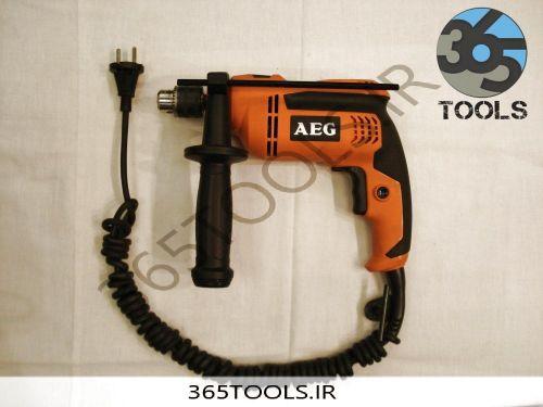 دریل AEG برقی چکشی مدل SBE500R