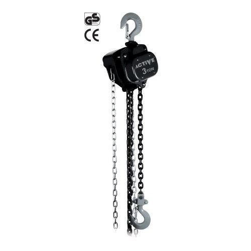 جرثقیل زنجیری 1٫5 تن با زنجیر 6 متری اکتیو AC-3315
