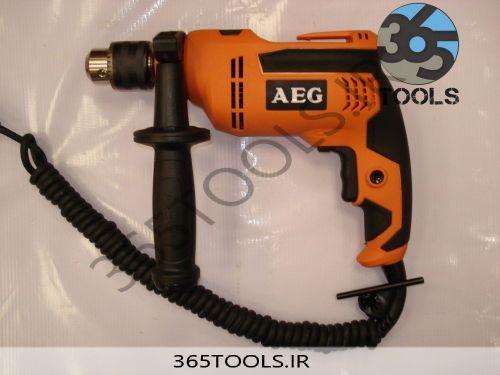 دریل AEG چکشی مدل SBE580R