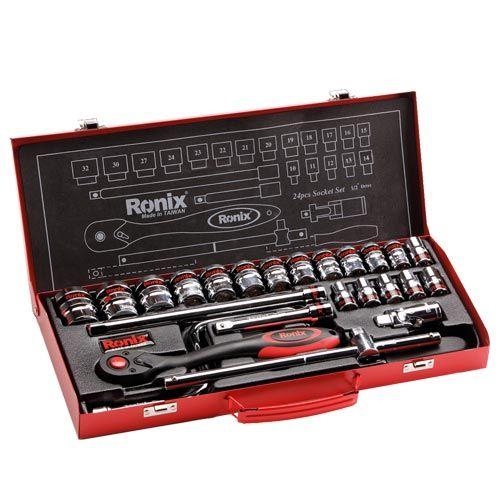 جعبه بکس 24 پارچه 1/2 اینچ رونیکس RH-2624