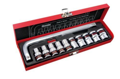 جعبه بکس 11 پارچه 1/2 اینچ رونیکس RH-2610